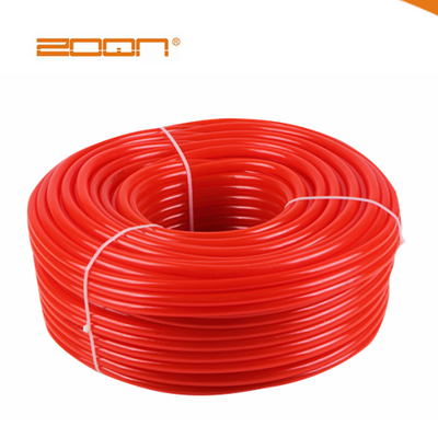 Orange soft PVC pipe, the best quality of the factory